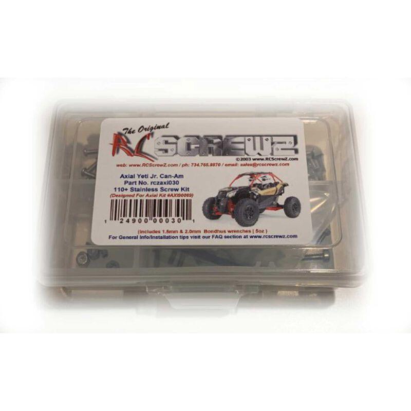 Stainless Steel Screw Kit: Yeti Jr Can-Am Maverick
