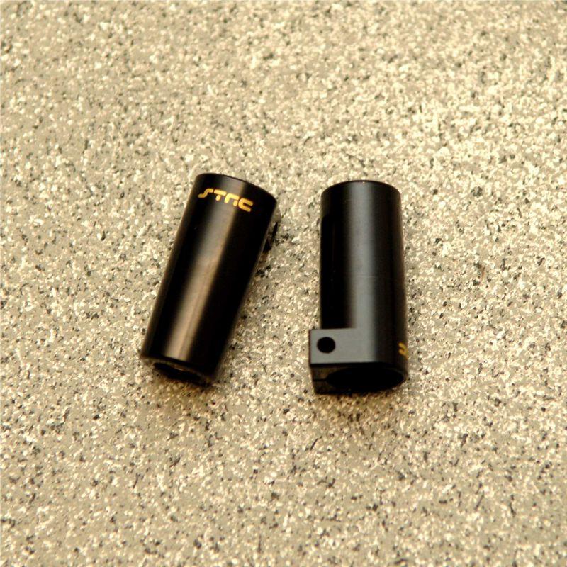 Brass Rear Lock-Out (1pr), Black: Axial, SCX10 II