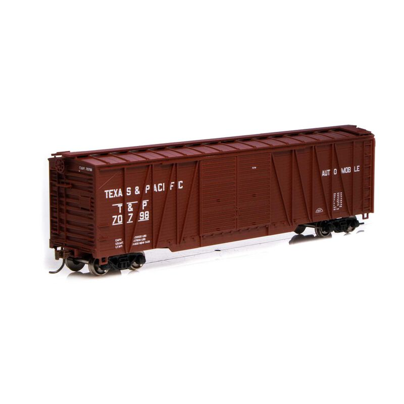HO RTR 50' Single Sheathed Box T&P #70798