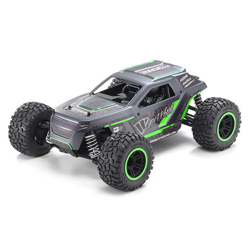 1/10 Fazer Mk2 Rage 2.0 4WD Brushed RTR, Green