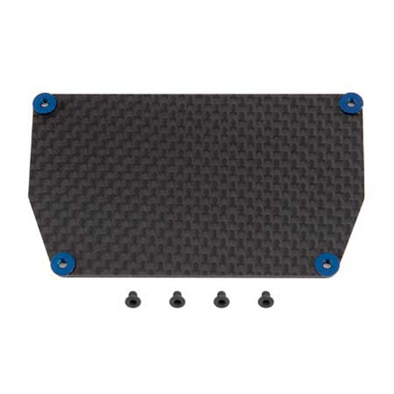 Factory Team Graphite ESC Plate: B6, B6D