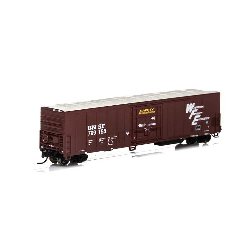 N 57' PCF Mechanical Reefer BNSF Brown #799155