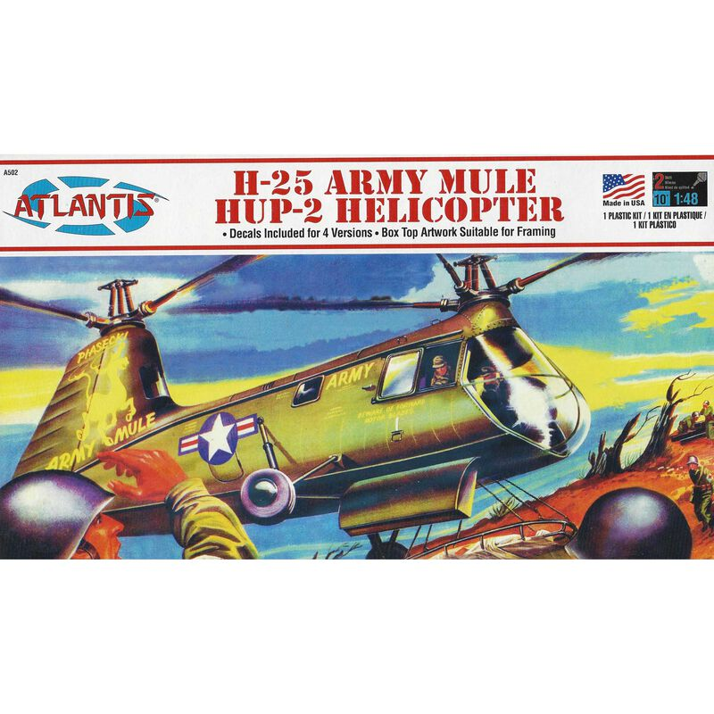 H-25 Hup-2 Army Mule Helicopter, 1/48