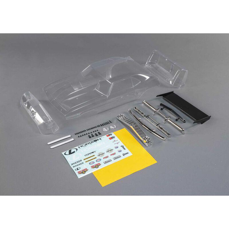 69 Camaro Body Set, Clear: 22S Drag