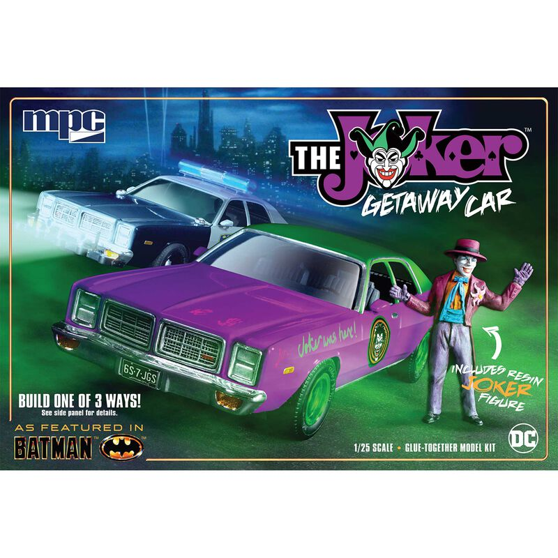 1 25 1978 Batman Joker Goon Car Dodge Monaco