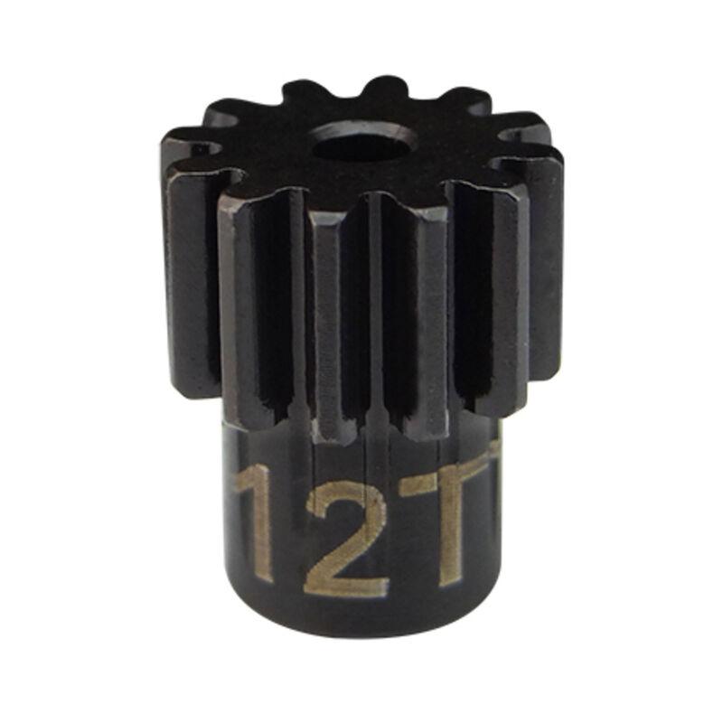 Steel Pinion Gear 12T .6 Module 2mm Shaft