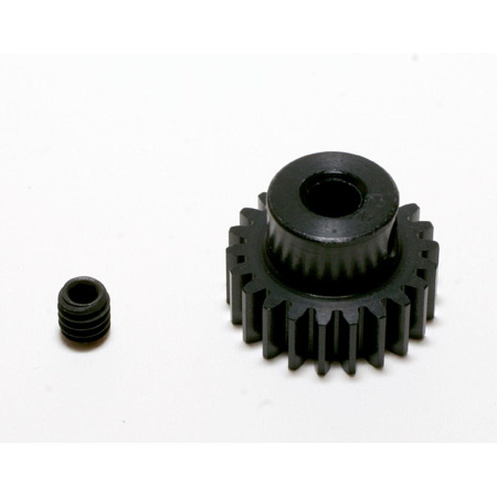 48P Hard Coated Aluminum Pinion Gear, 22T