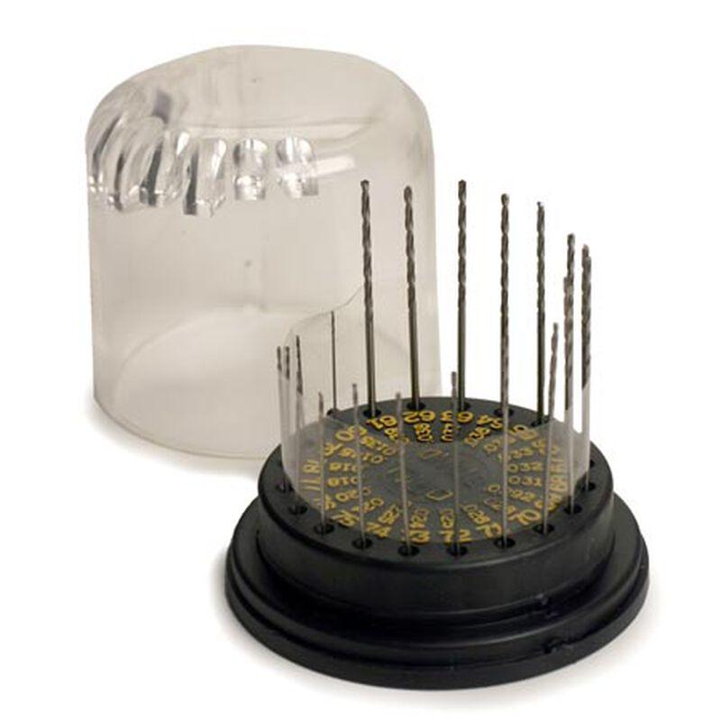 Drill Bit Assorted, #61-80 (20), Plastic Stand