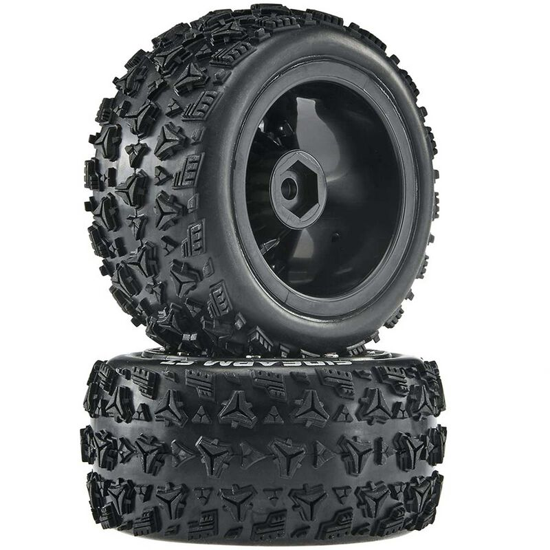 Sidearm ST 2.2 Tires, Black (2)
