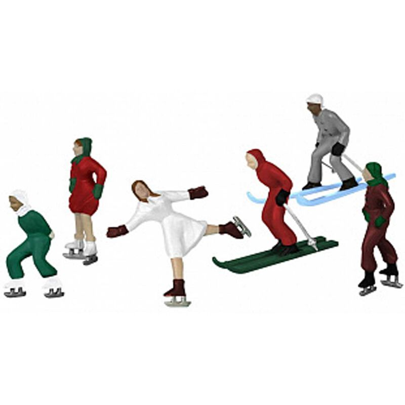 Winter Action Figures 6-Pack