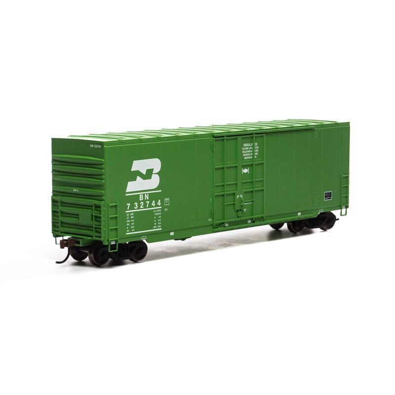 HO 50' Smooth High Cube Plug Box, BN/Late #732744