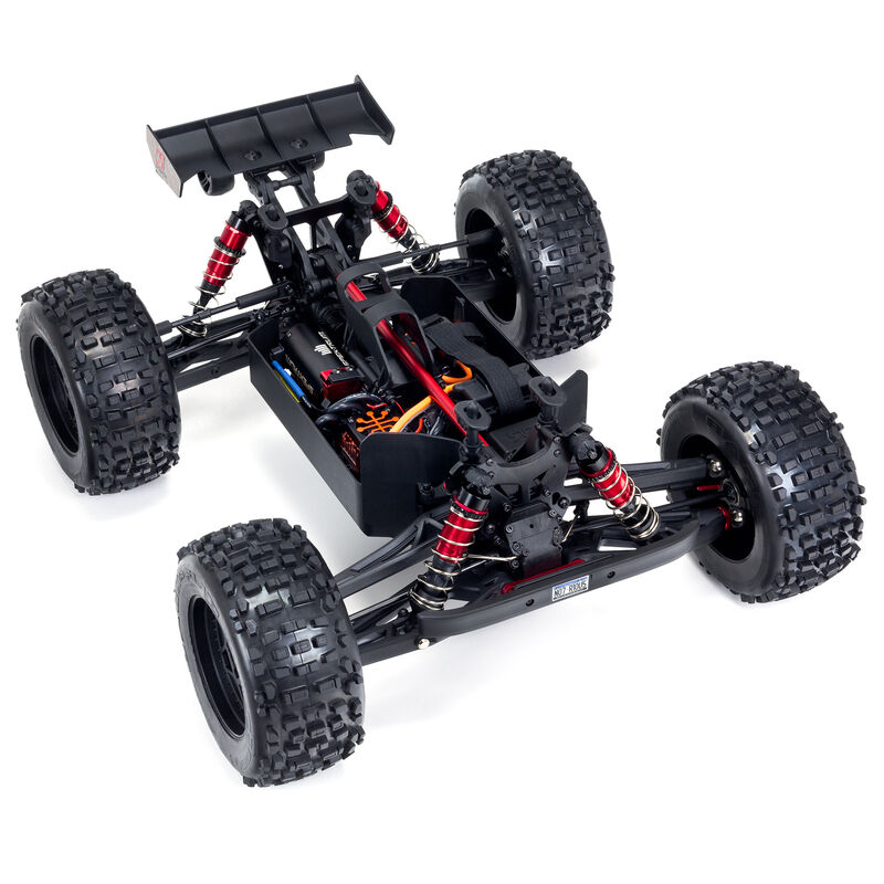 1/8 NOTORIOUS 6S V5 4WD BLX Stunt Truck with Spektrum Firma RTR, Blue