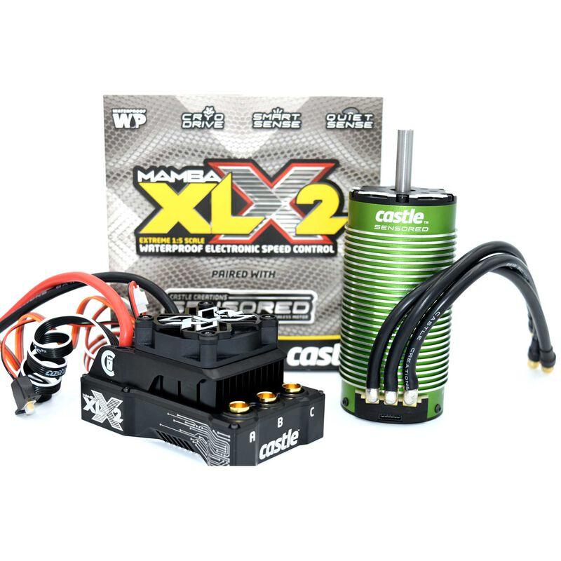 1/5 Mamba XLX2 ESC & 1100Kv Sensored Motor Combo