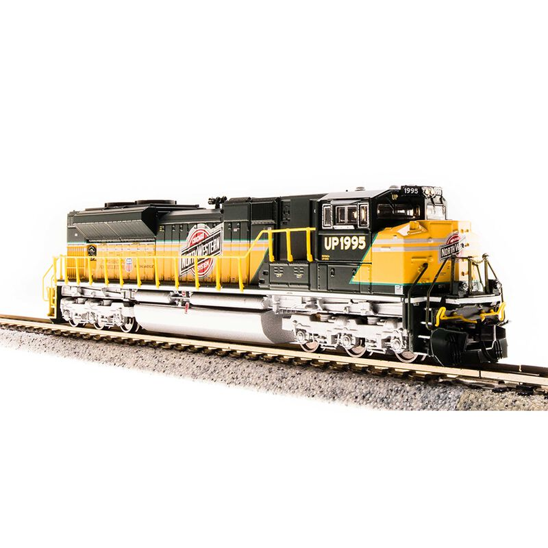 N SD70ACe w DCC & Paragon 3 UP C&NW Heritage #1995