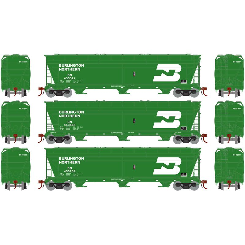 N ACF 4600 3-Bay Centerflow Hopper BN (3)
