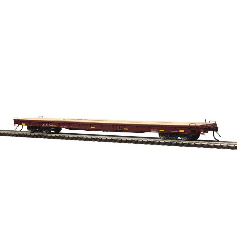 HO 60' Wood Deck Flat NS #101502