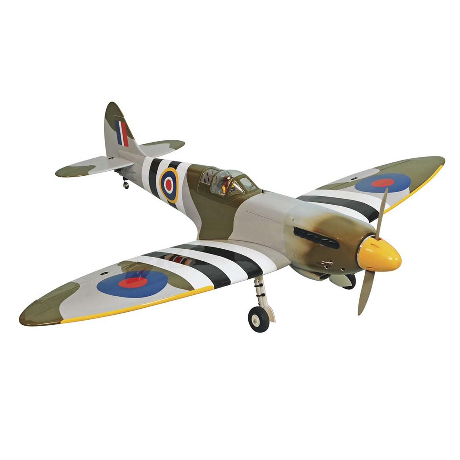 "1/8 Spitfire Mk2 .46-.55 GP EP ARF 55"""