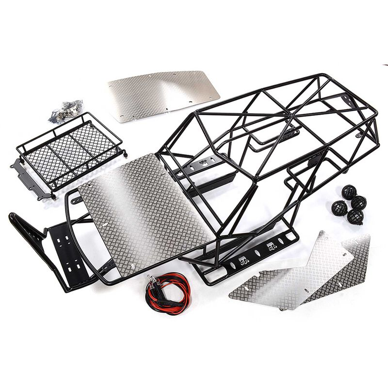 Realistic 2.2 Roll Cage: 1/10 Wraith Rock Racer