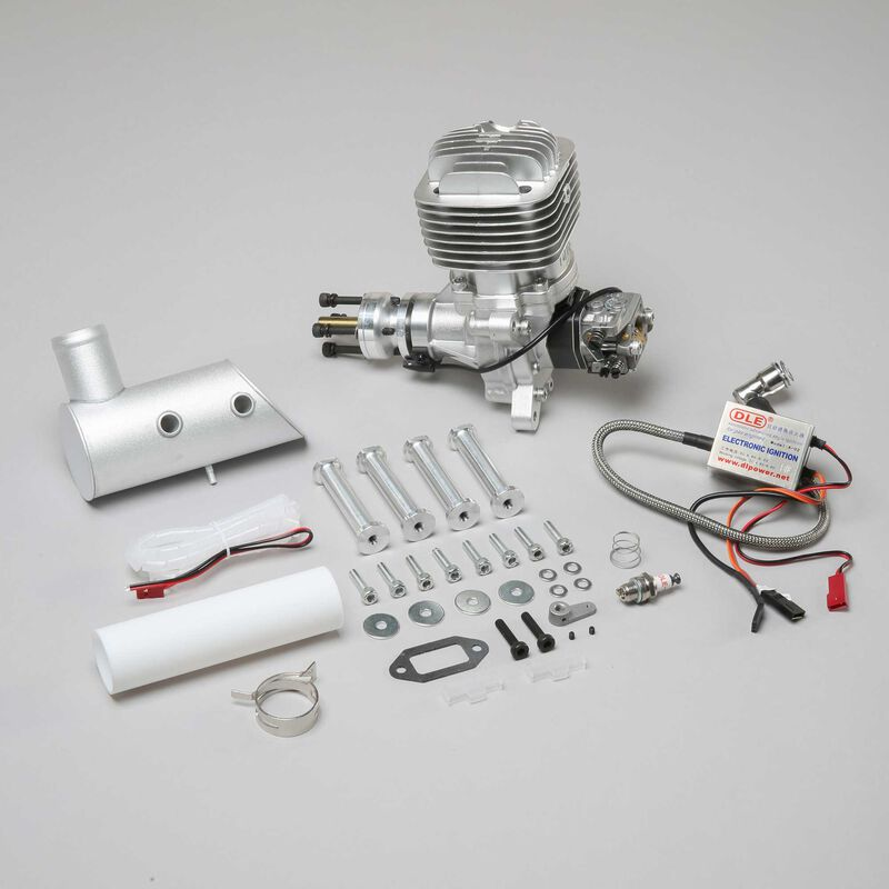 DLE-61 61cc Gas Engine with Electronic Ignition and Muffler