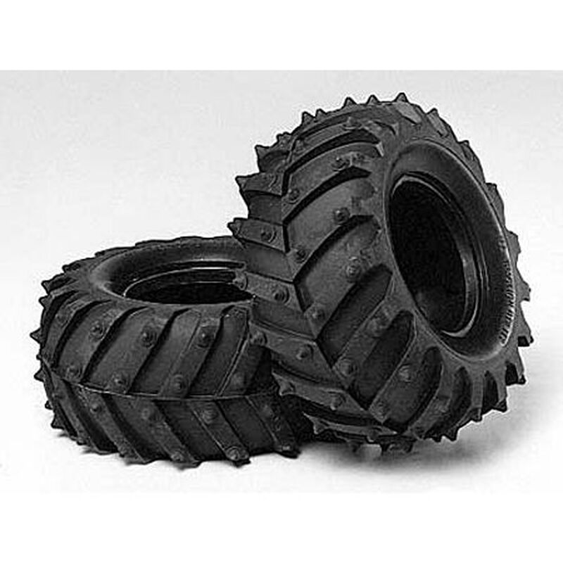 1/10 Monster Pin Spike Front/Rear Tires (2): 58309/12/66
