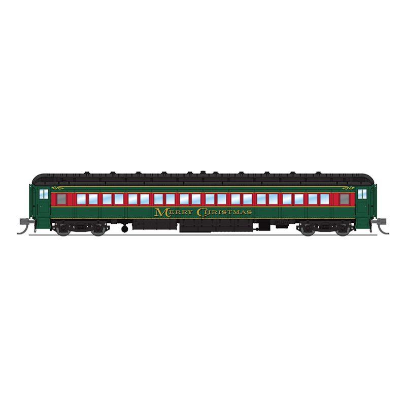 6542 80' Passenger , Merry Christmas,Single Car, N