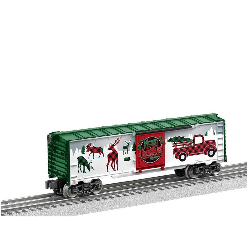 O27 Boxcar Christmas 2020