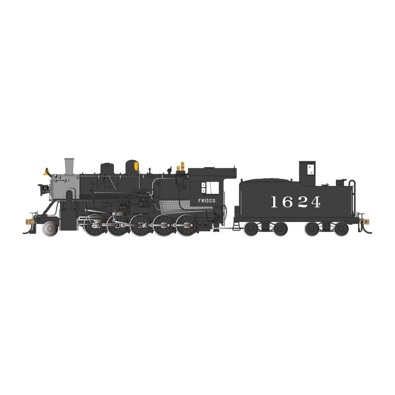 HO SP 2-10-0 with DCC SLSF with Doghouse #1624