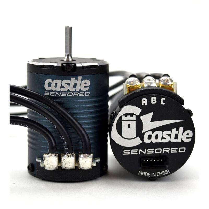 1/10 4-Pole Sensored Brushless Motor, 1406-2850Kv: 4mm Bullet