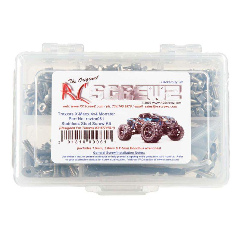 Stainless Steel Screw Kit Traxxax X-Maxx