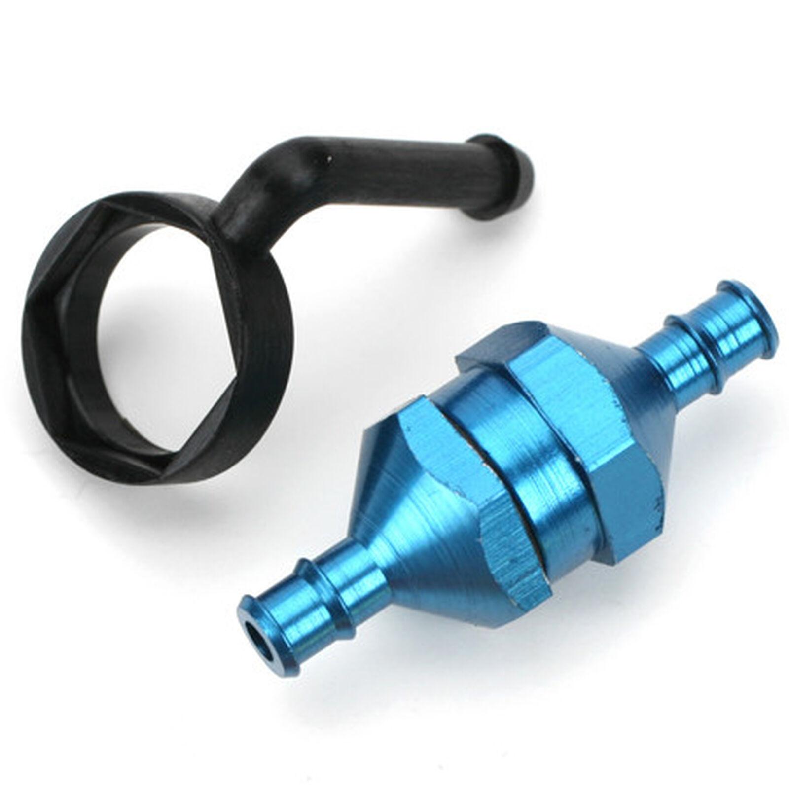 In-Line Fuel Filter, Blue