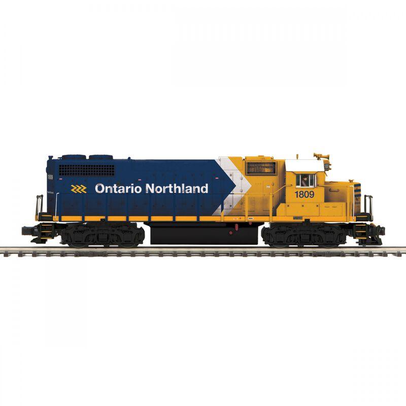O Hi-Rail GP38-2 with PS3 ONT #1809