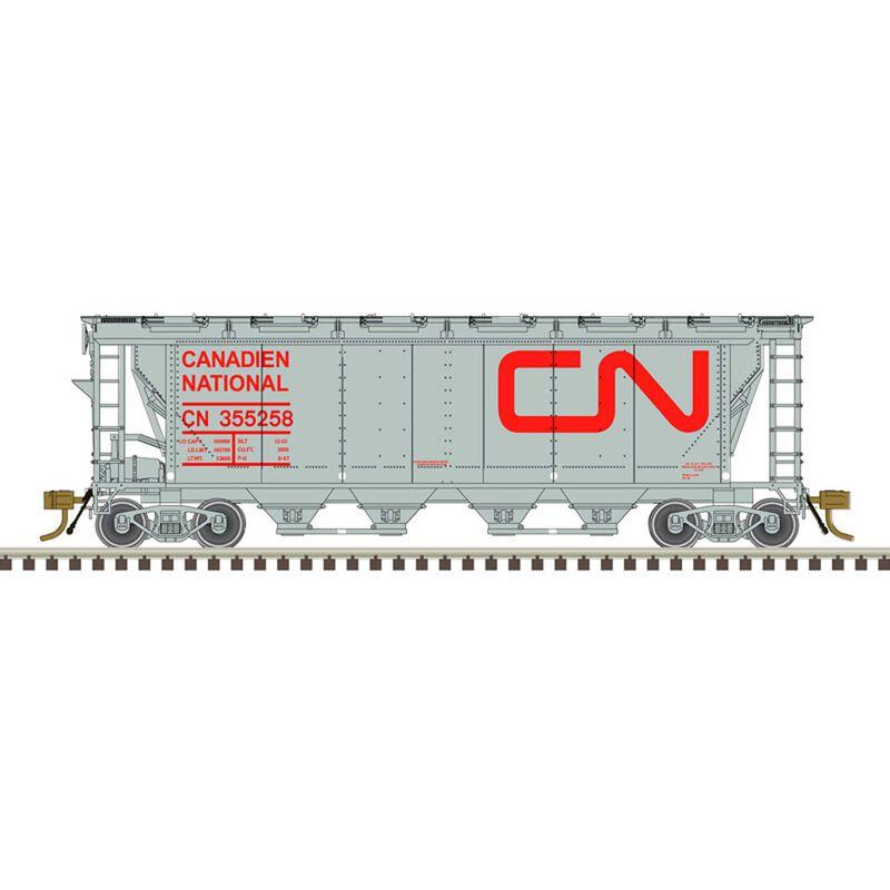 HO Hopper CN (Noodle - 12 Hatch) 355151