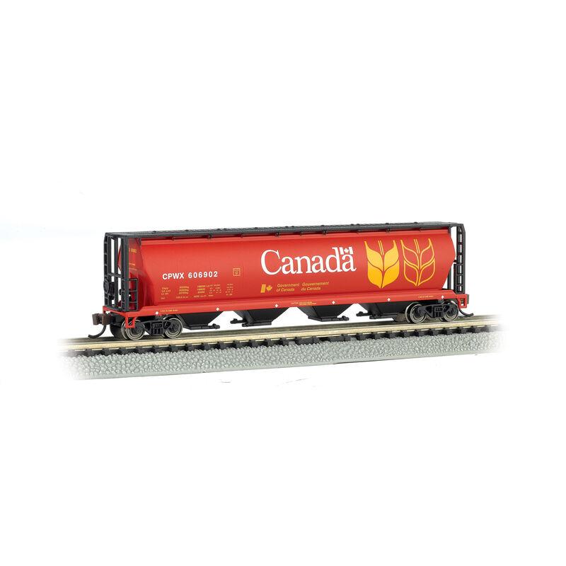 N 4-Bay Cylindrical Hopper, Canada Grain