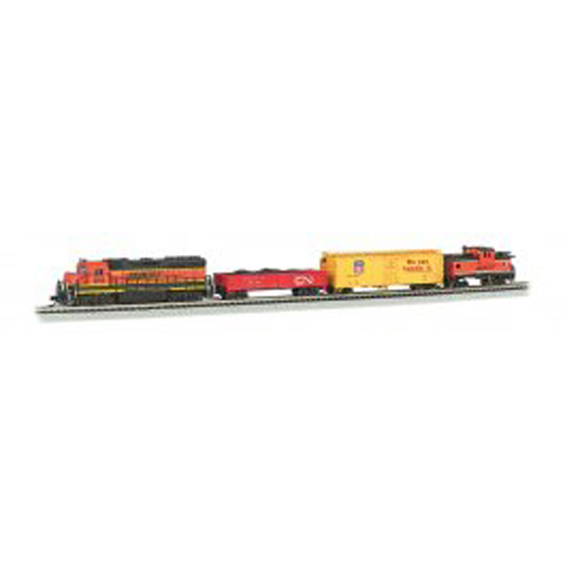 N Roaring Rails Set with DCC
