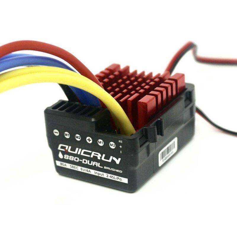 Quicrun 880 ESC, 80A, 1/10 & 1/8