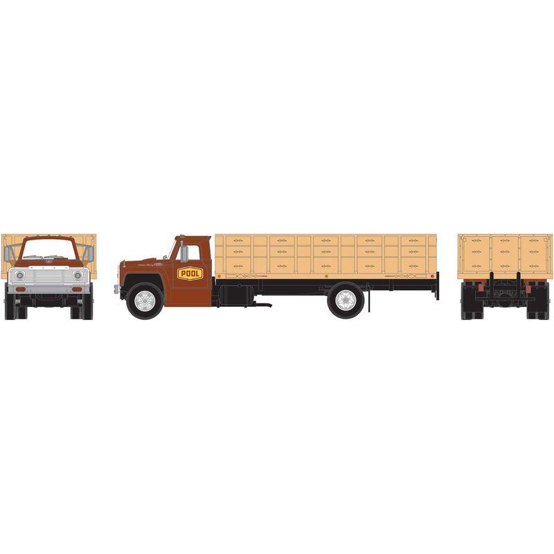 HO RTR Ford F-850 Grain Truck POOL