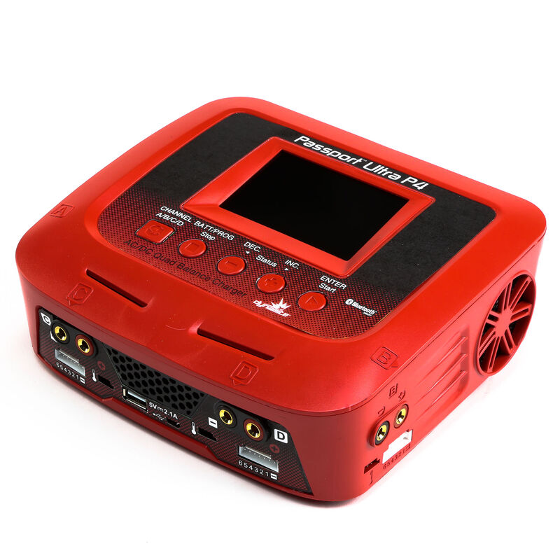 Passport P4 200W AC/DC 4-Port Multicharger with Bluetooth Connectivity