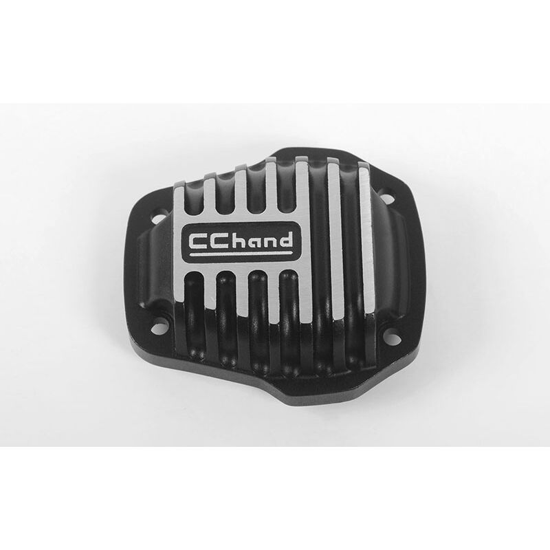 Alum Diff Cover: MST 1/10 CMX with Jimny J3 Body, Black