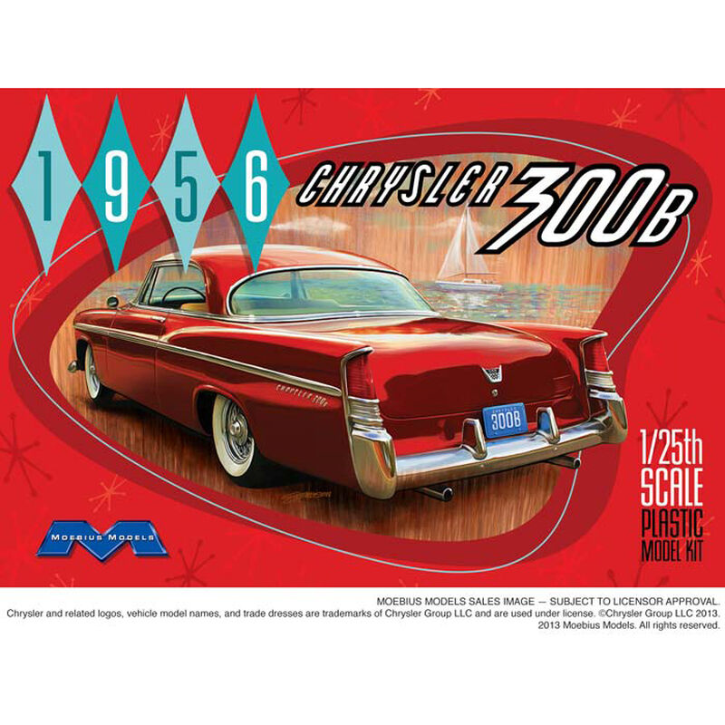 1/25 '56 Chrysler 300B