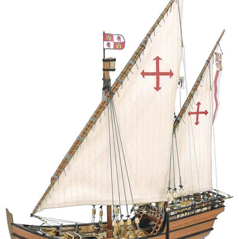 1 65 La Nina Wooden Model Ship Kit