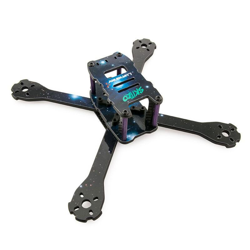 QAV-SKITZO Dark Matter FPV Freestyle Quad Frame