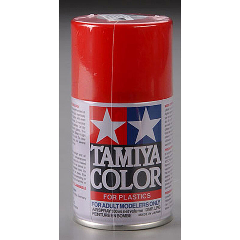 Spray Lacquer TS-49 Bright Red