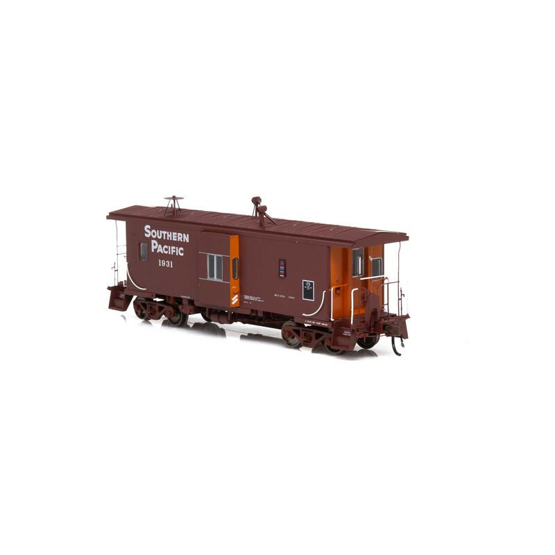 HO ICC Caboose with Lights & Sound SP #1931