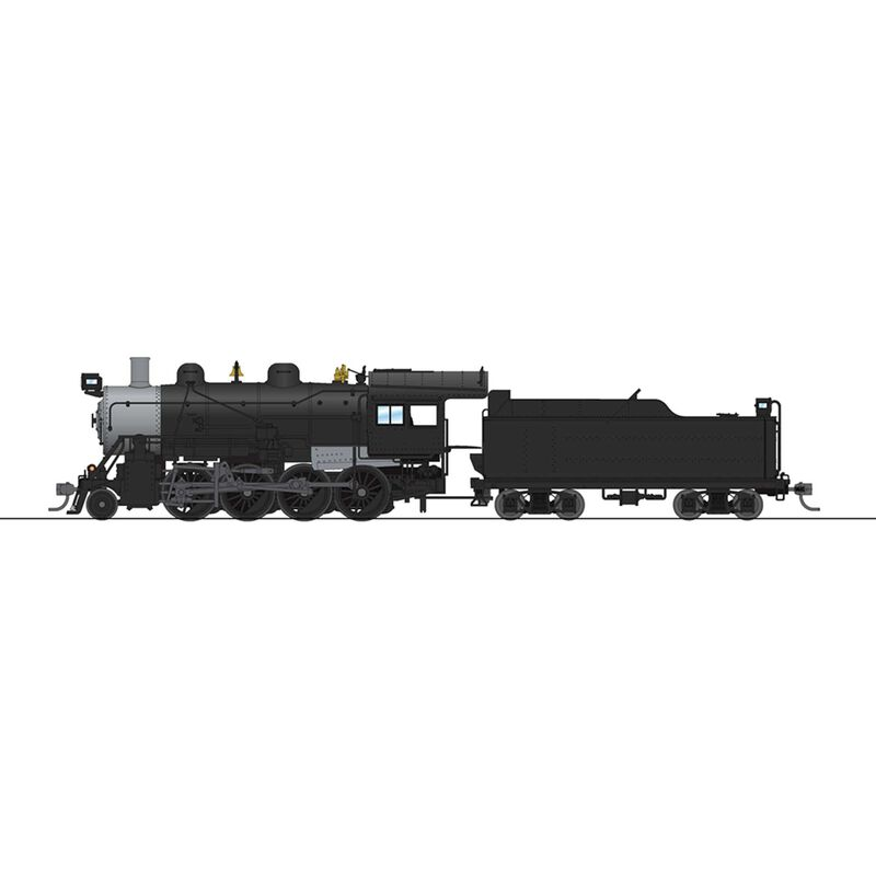 HO 2-8-0 Consolidation Paragon3,  Unlettered