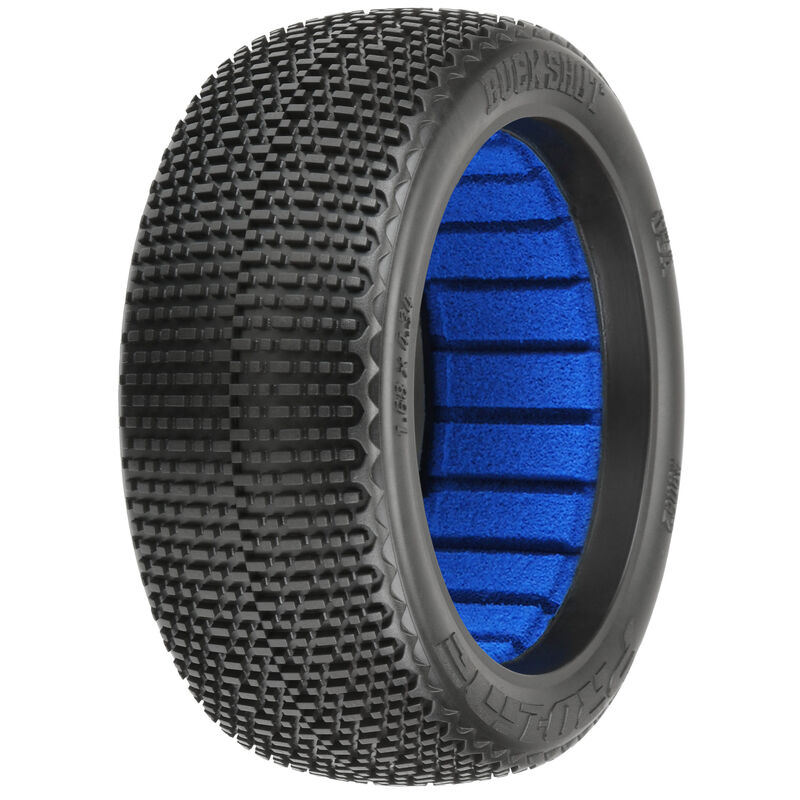 1/8 Buck Shot S3 Soft Off-Road Tire (2): Buggy