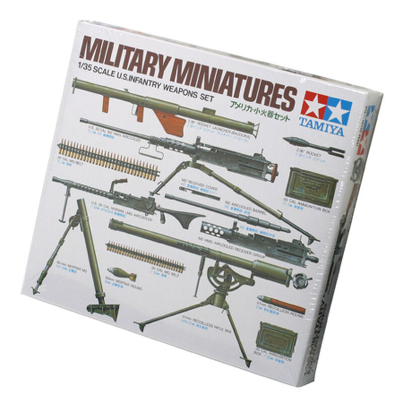 1/35 US Infantry Weapons Set
