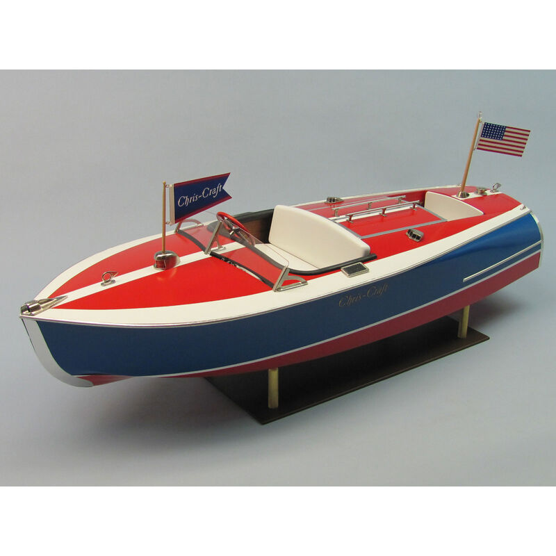 Chris-Craft 16' Painted Racer Boat Kit, 24""