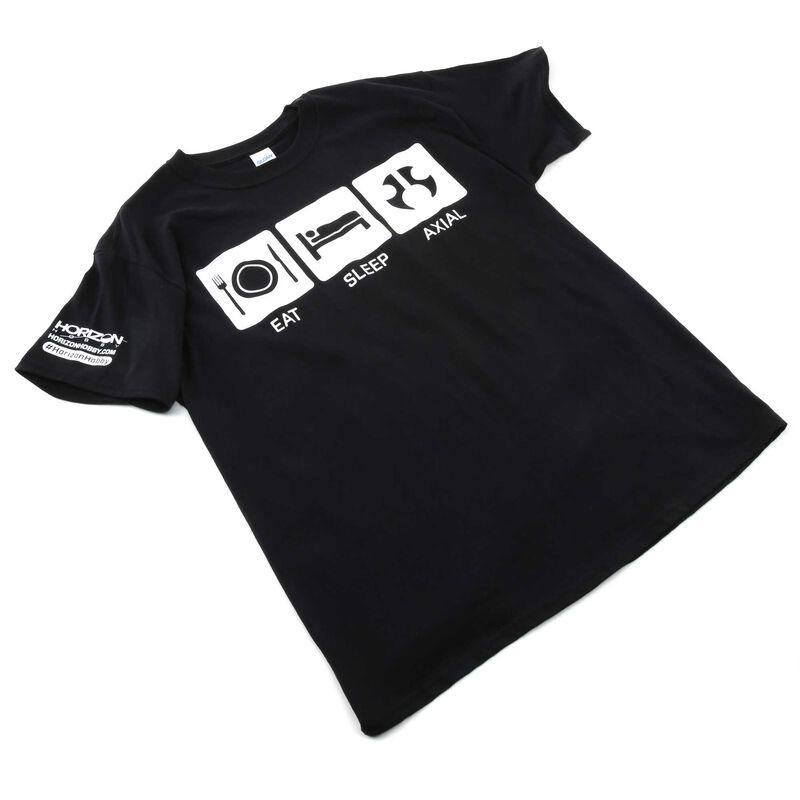 Eat Sleep Axial T-Shirt, Medium