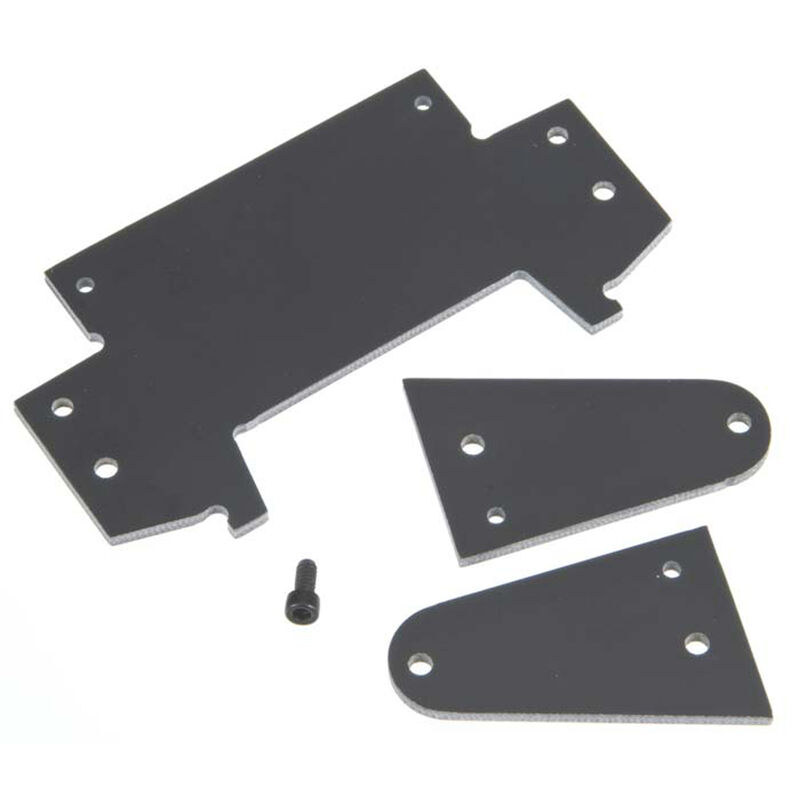 Front Axle Plate (3 pc): Legends