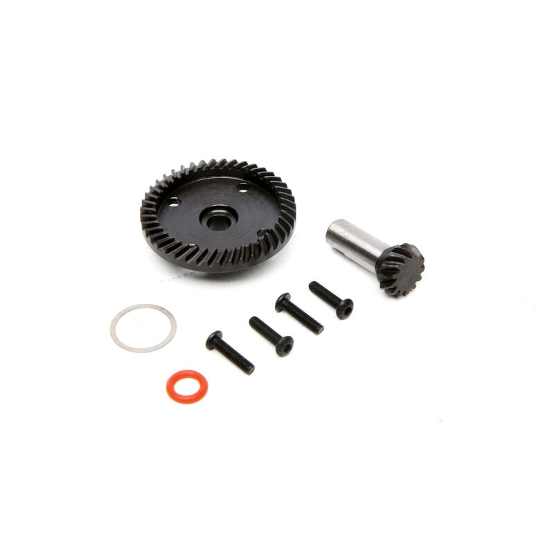 Front and Rear Ring and Pinion Set: 1/8 Epidemic, 1/8 Muckraker